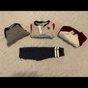 Long sleeve with pants outfits